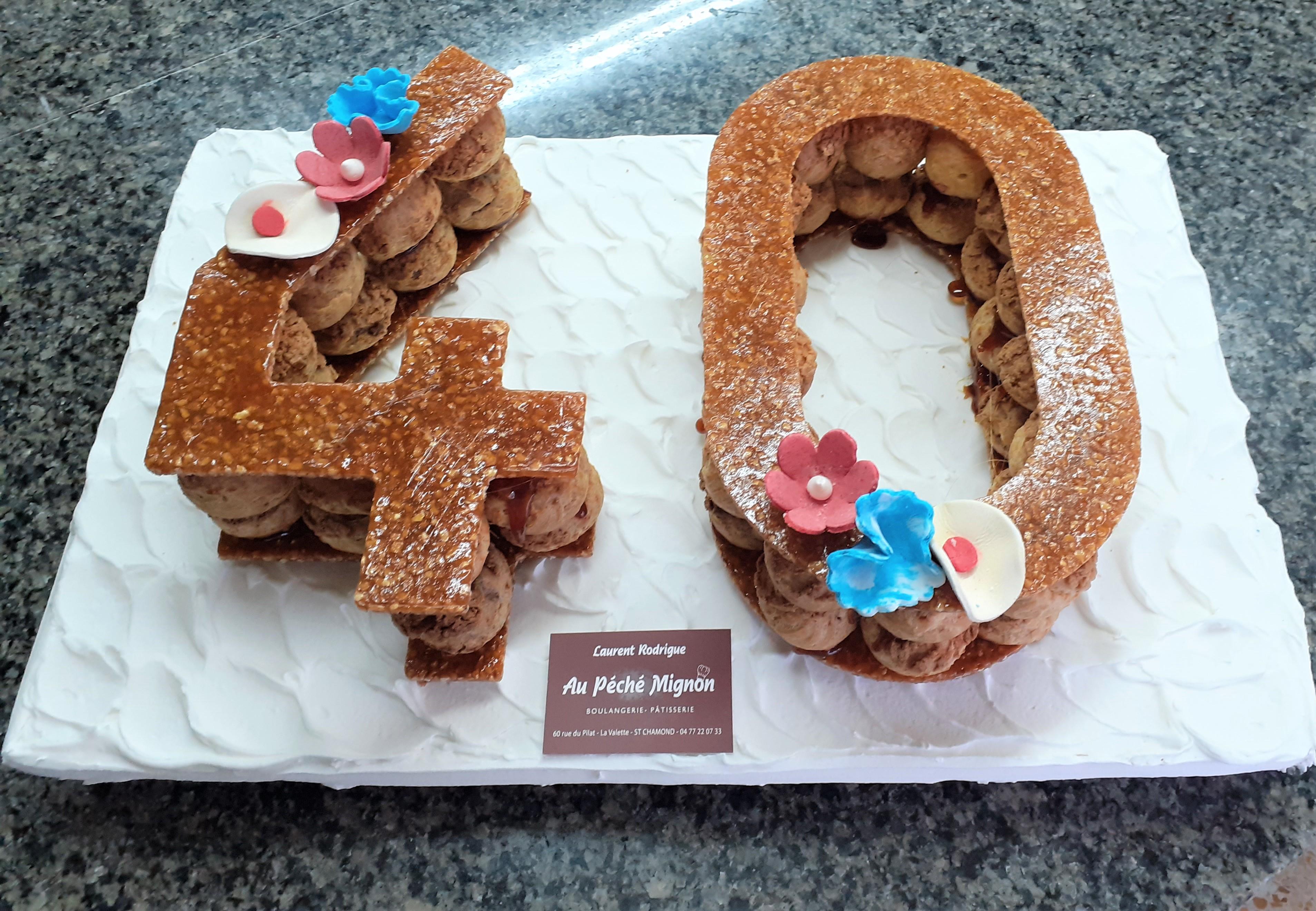 Gâteaux chiffres, en choux, entremets ou tartes pour vos anniversaires